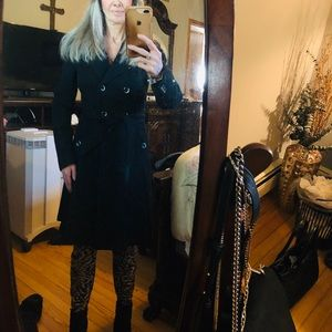 EC Ted Baker Double Breasted Cashmere Coat